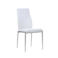 Toronto - Dining Set Package Toronto 160 Cm Dining Table + 6 Milan High back Chair White. - FTG - Dining Sets - 4204244601 - 3