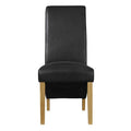 Treviso Chair Black (pack of 2) - Lenora - Dining Chairs - TREVISOBLA - 1