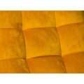 Yellow Velvet Armchair by Native Home & Lifestyle - Native Home & Lifestyle - CHAIR-RELAX-YELLOW - 3