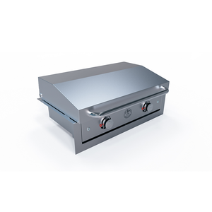 Stainless Trim, Stainless Lid & Electric Griddle - Le Griddle