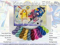 The Kandinsky Effect Special Offer, a collaboration between tiziana and dye diana dye.