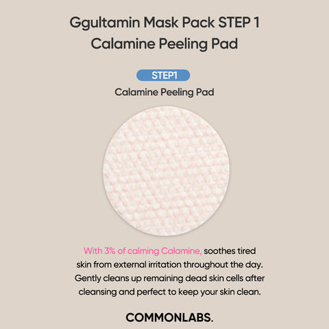 COMMONLABS Ggultamin B Real Jel Mask (5EA)