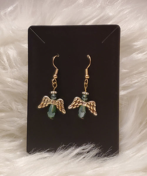 Small Angel Earrings