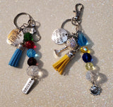 Jeweled Keychain