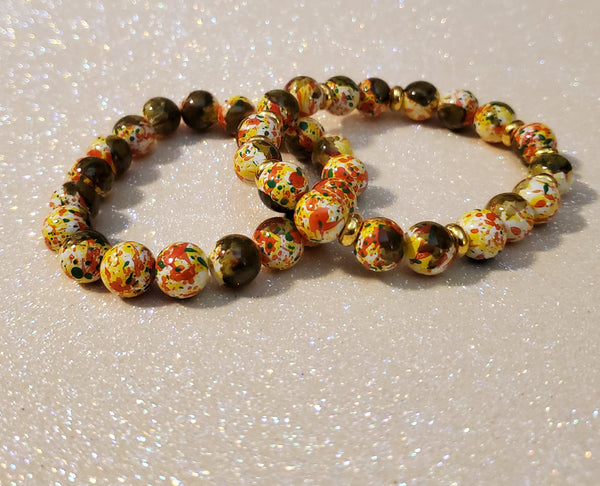Speckled Bracelet Set