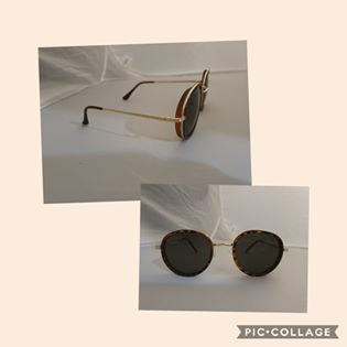 Vintage Inspired Sunglasses-Tortoise/Green