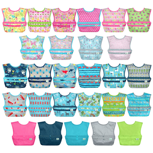Assorted Snap + Go® Easy-wear Bib (Multiples of 10)