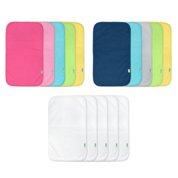 Assorted Stay-dry Burp Pads (Multiples of 3)