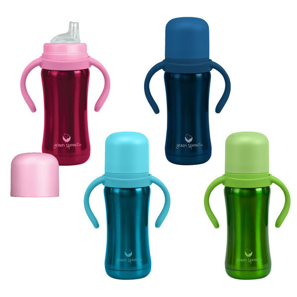 Assorted Sippy Cup made from Stainless Steel