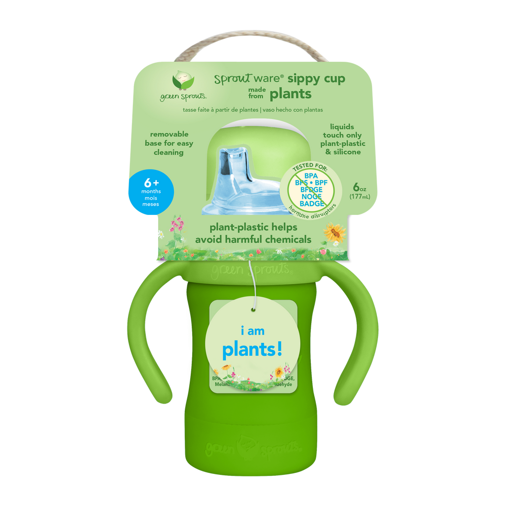 Assorted Sprout Ware® Sippy Cup made from Plants (Multiples of 3)