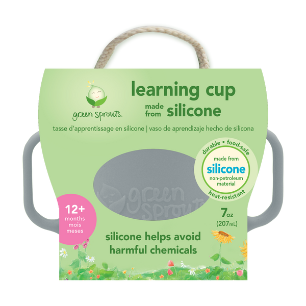 Learning Cup made from Silicone
