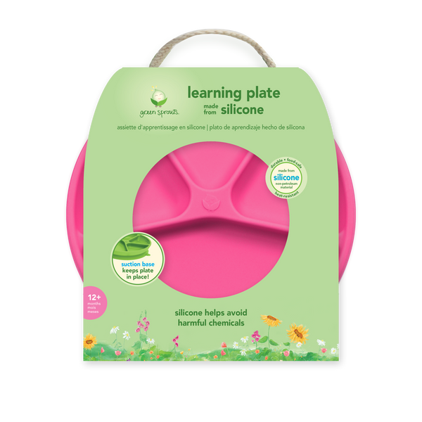 Learning Plate made from Silicone