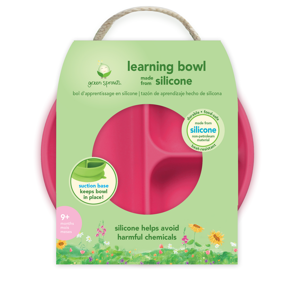 Assorted Learning Bowl made from Silicone (Multiples of 3)
