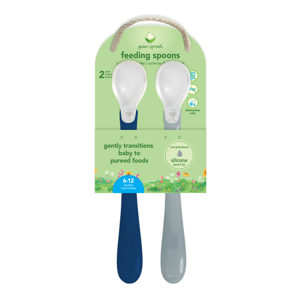 Assorted Feeding Spoons (2 pack) (Multiples of 6)