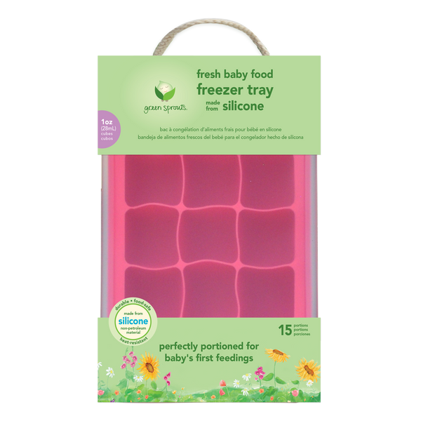 Assorted Fresh Baby Food Freezer Tray (Multiples of 4)
