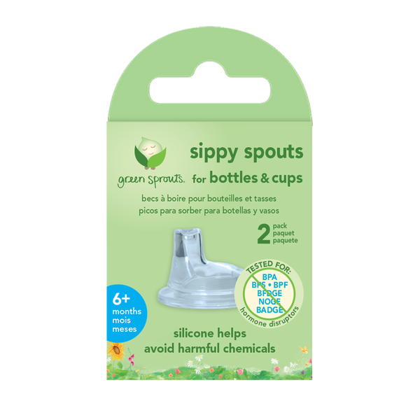 Sippy Spouts for Bottles and Cups (2 pack)