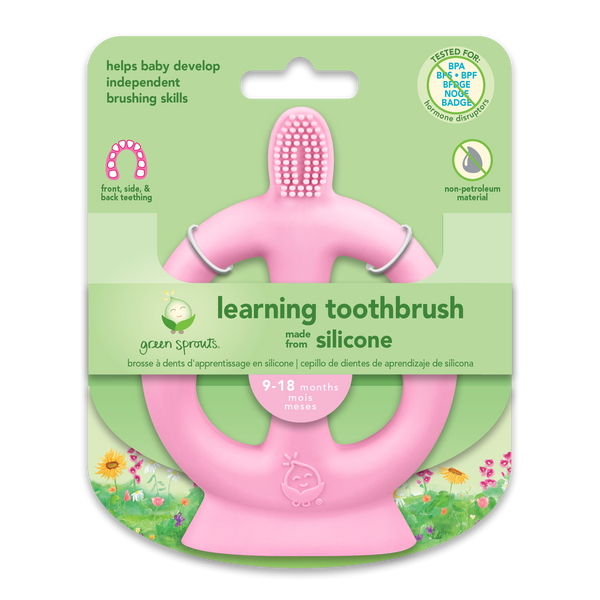 Learning Toothbrush made from Silicone