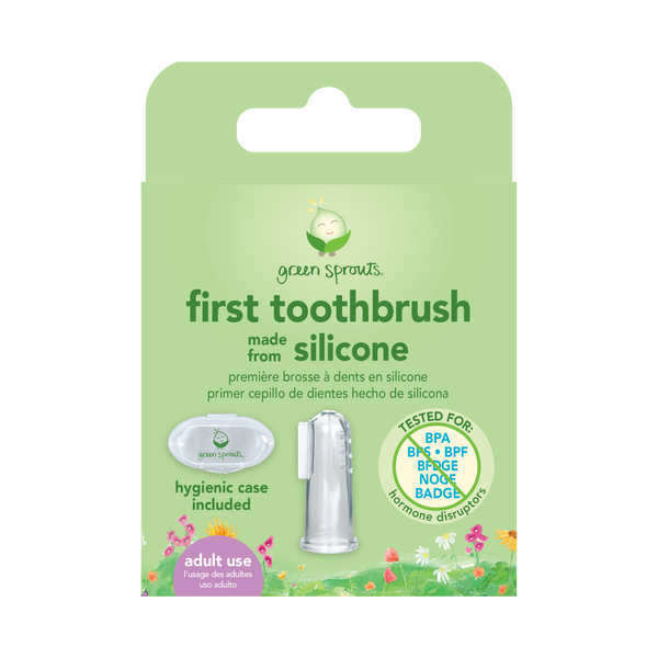 First Toothbrush made from Silicone