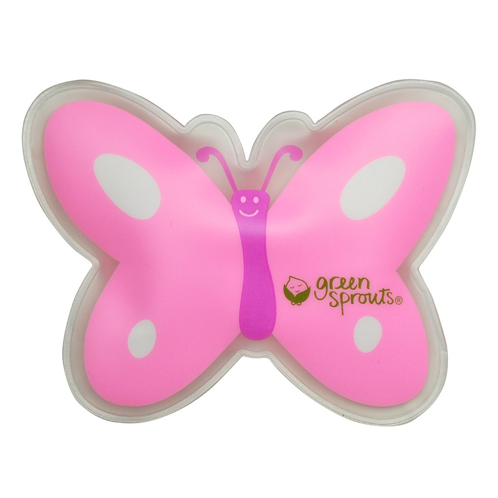 Cool Calm Press Pink Butterfly