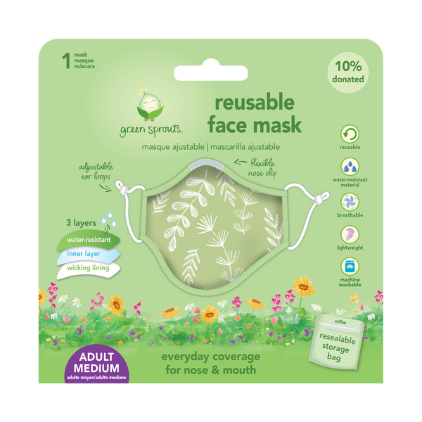 Adult Adjustable Reusable Face Mask