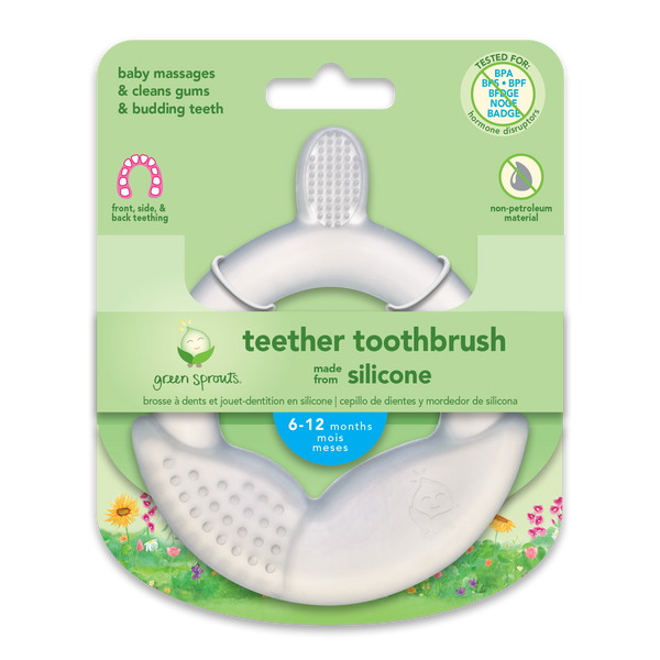 Teether Toothbrush made from Silicone