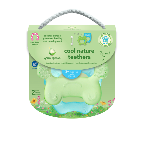 Assorted Cool Nature Teethers (Multiples of 6)
