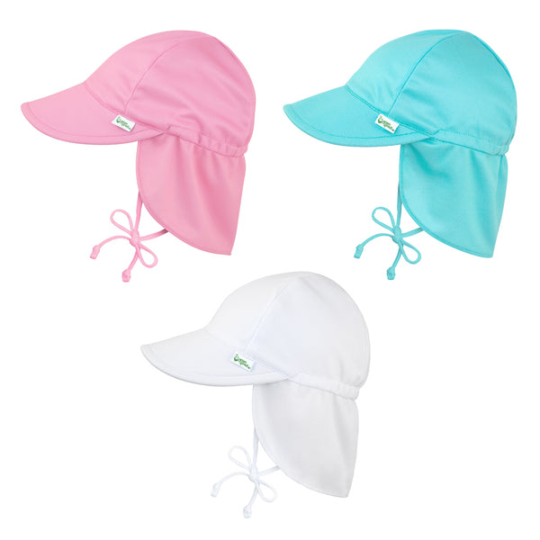 Breathable Swim and Sun Flap Hat