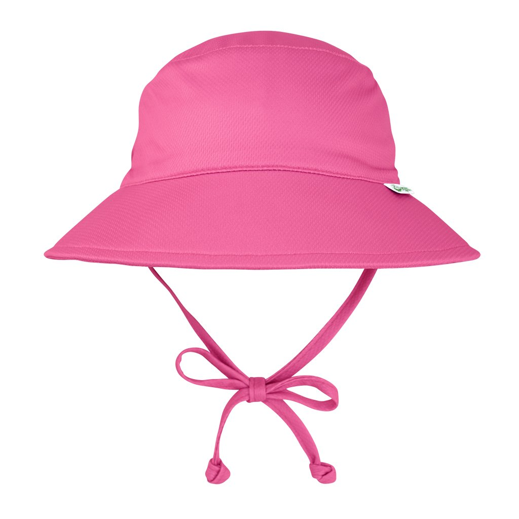 Hot Pink Breathable Swim and Sun Bucket Hat