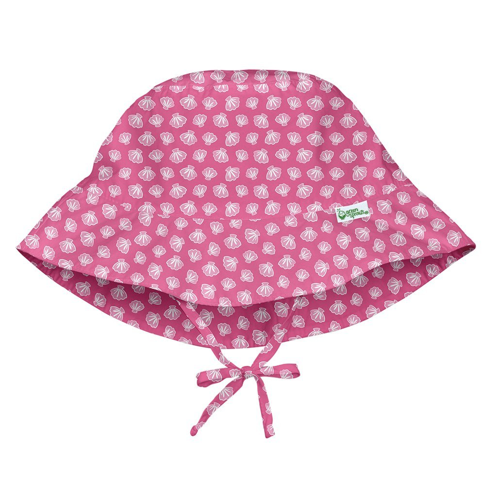 Hot Pink Starfish Geo Bucket Sun Protection Hat