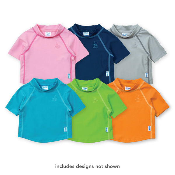 Assorted Short Sleeve Rashguard Shirt (Multiples of 6)