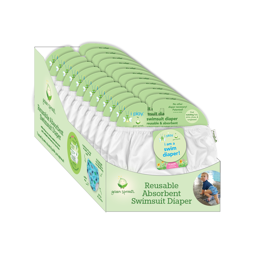 Pull-up Reusable Swim Diaper Counter Display (12 piece)