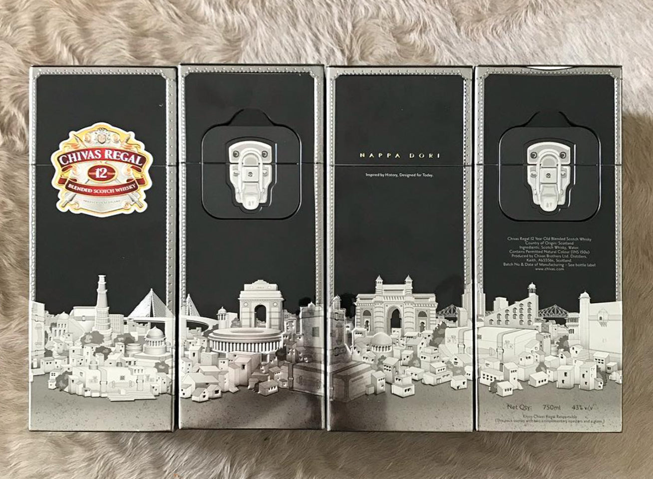 Chivas Regal Package From All Sides