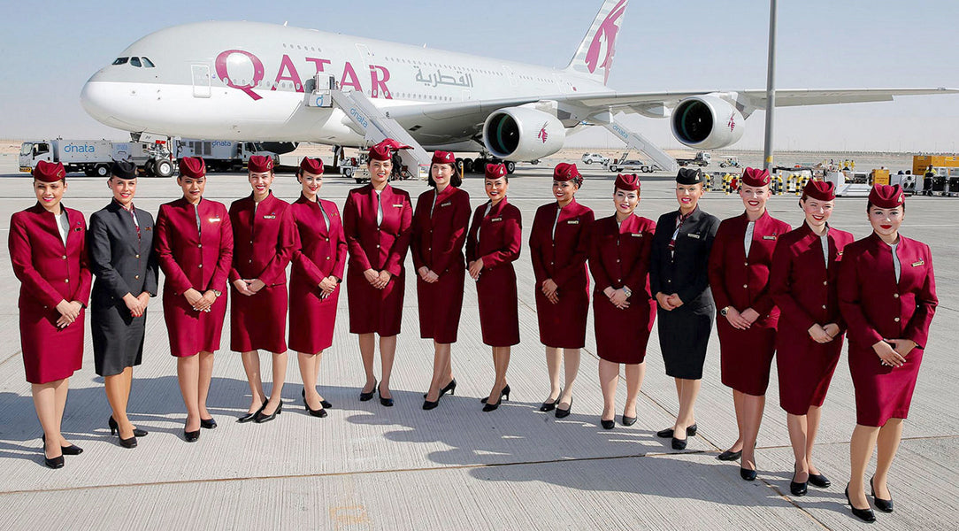 Air Hostess - Qatar Airways