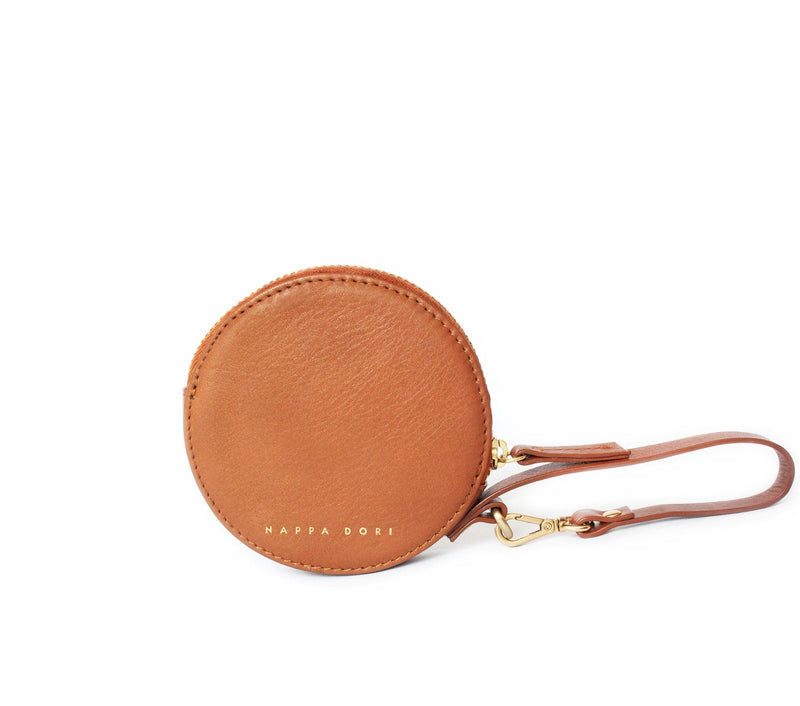 leather pouch handbag