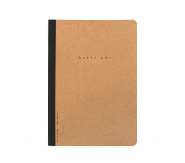 plain white notebook