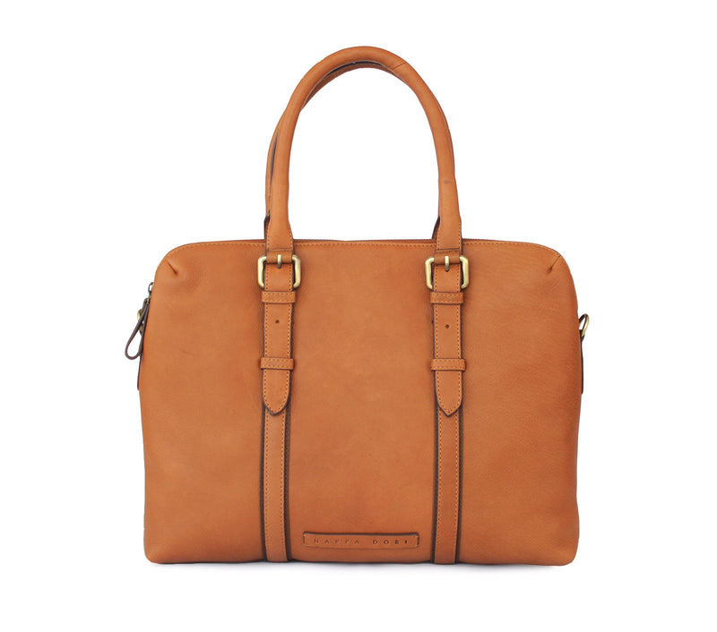 laptop tote leather