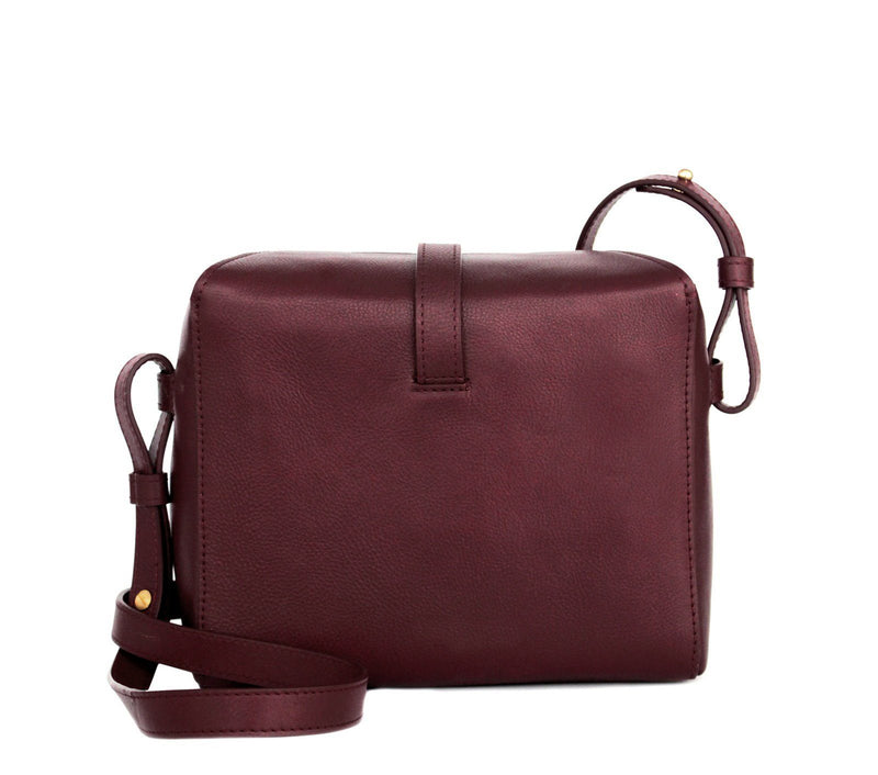 BURGUNDY sling bag for women