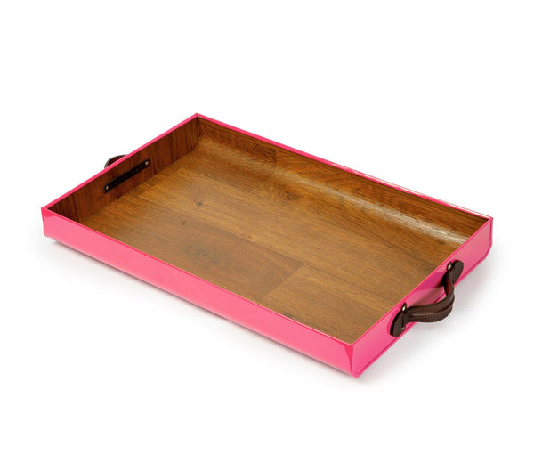 PINK SERVING TRAY