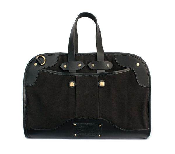 canvas leather laptop bag