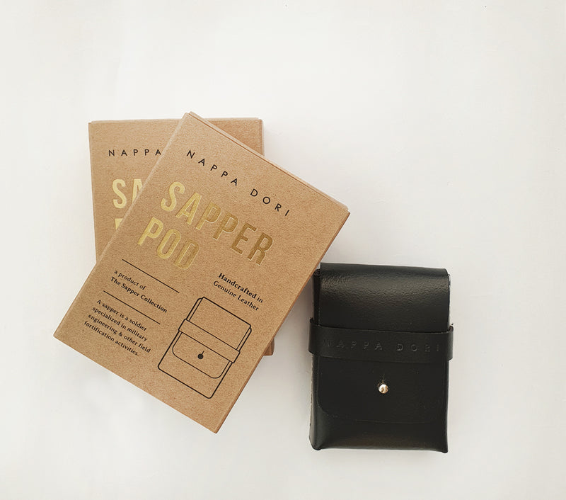 personalised leather business card holder