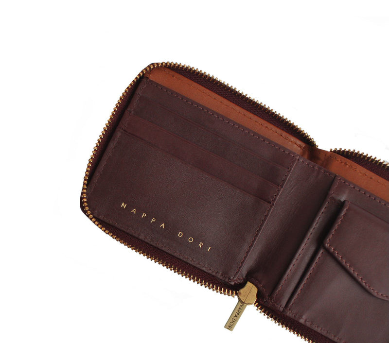 genuine leather wallet womens