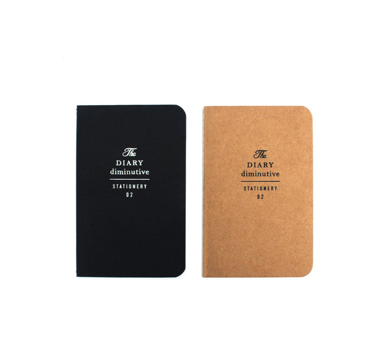 small diary notebook