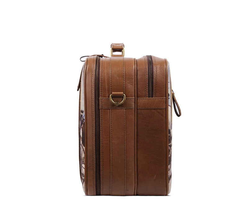 best leather weekender bag