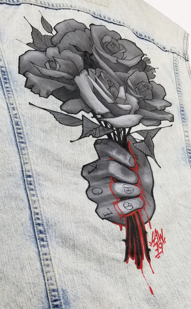 Law Tattoo x GHD Denim Art