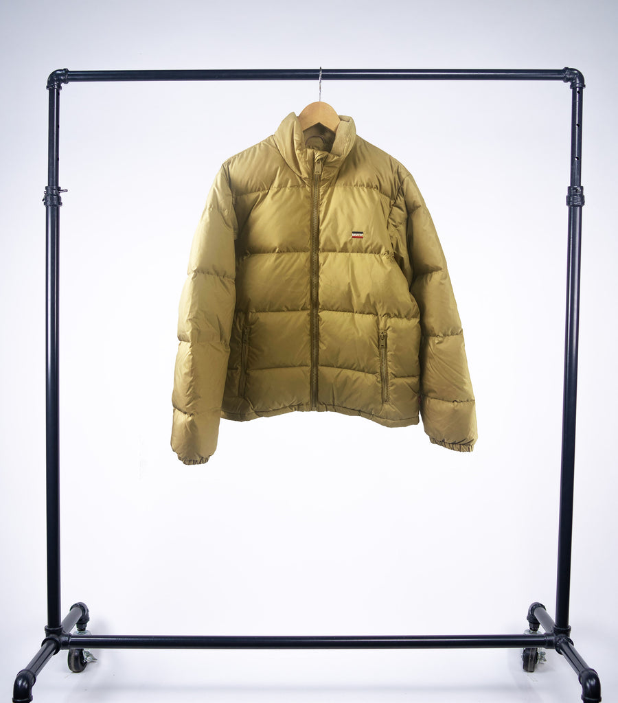 Levis Fillmore Short Puffer Jacket - Harvest Gold - Grey Hearts Kelowna