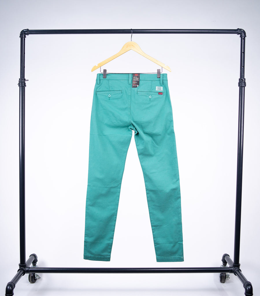 Levis XX Chino Slim II/Jade Blue Shady GD CCU - Grey Hearts Kelowna