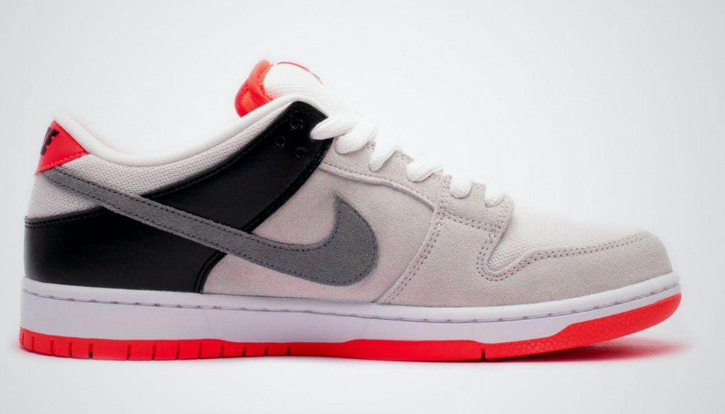 Nike SB Dunk Low Pro ISO Orange Label 'Infrared' - Grey Hearts Kelowna