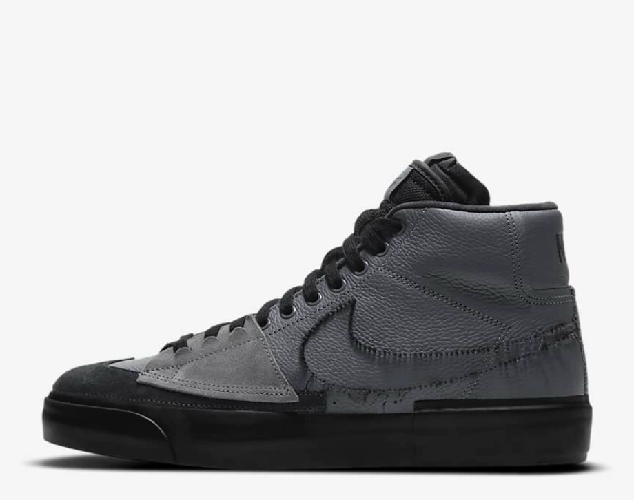 "Nike SB Zoom Blazer Mid Edge ""Hack Pack"" - Iron Grey - Grey Hearts Kelowna"