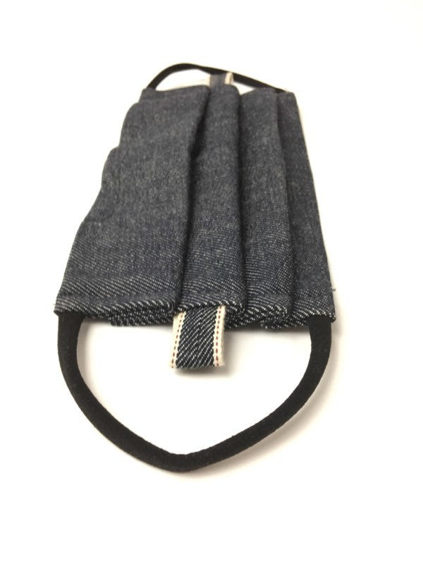 OG Denim Non-Medical Protective Mask - Grey Hearts Kelowna