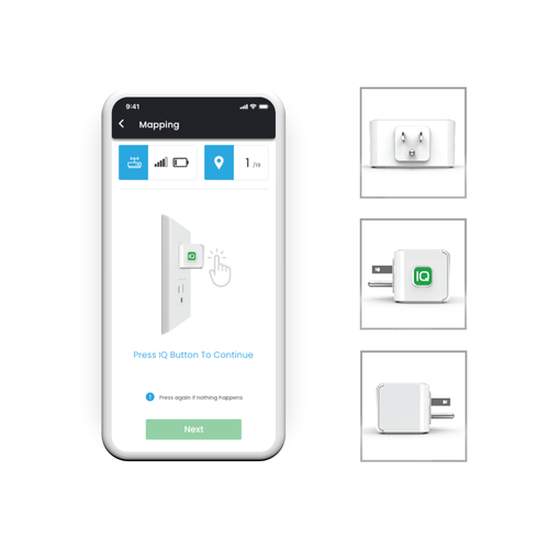 Simple Process - Our easy-to-use app removes the process of repeatedly walking back and forth from panel to outlet for each breaker.